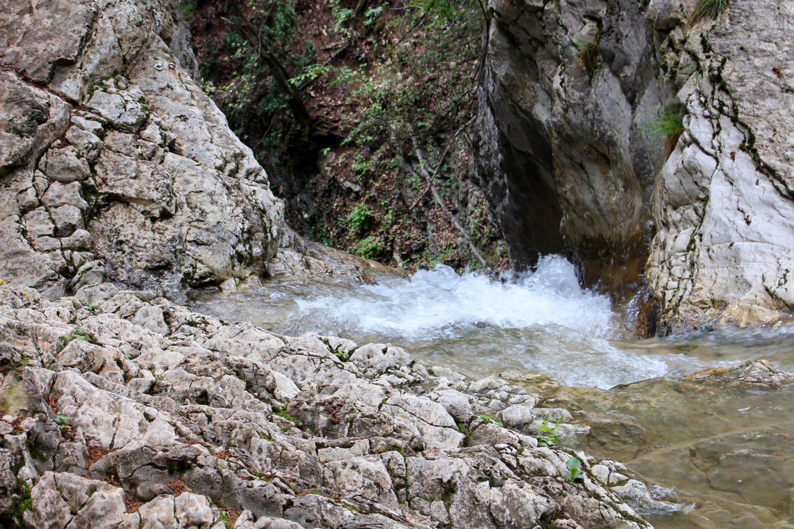 Abfluss Wasserfall