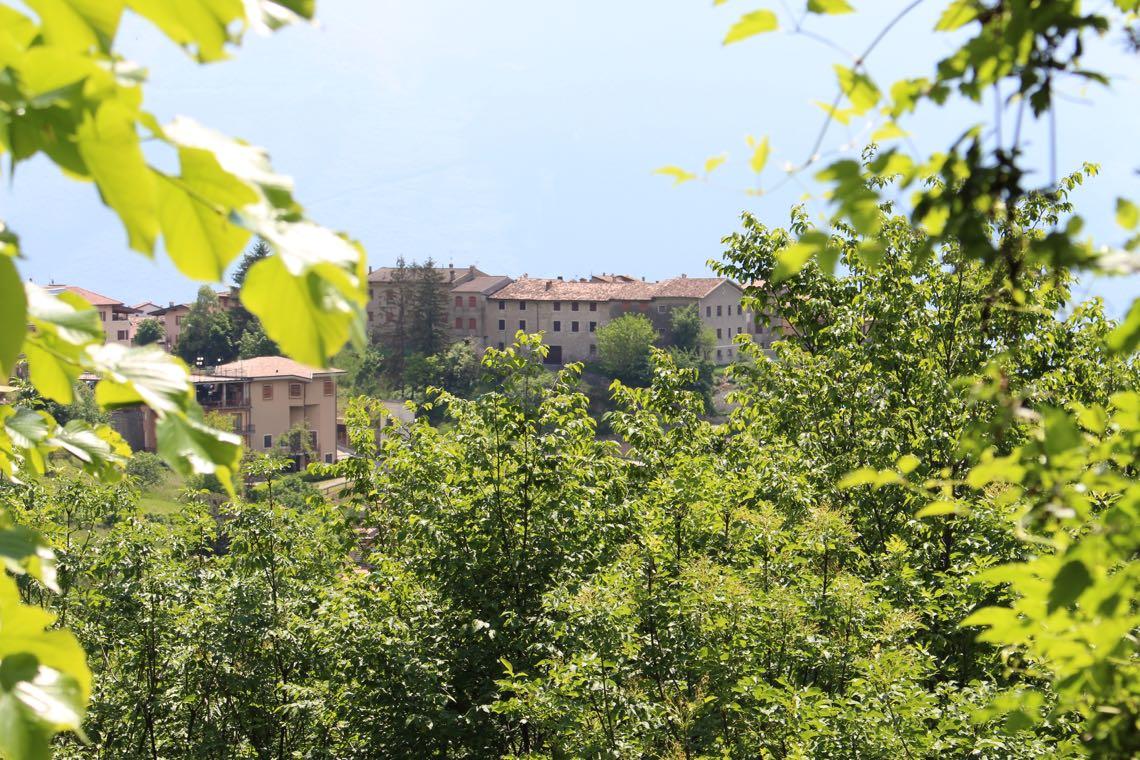 Blick zurück nach Gardola