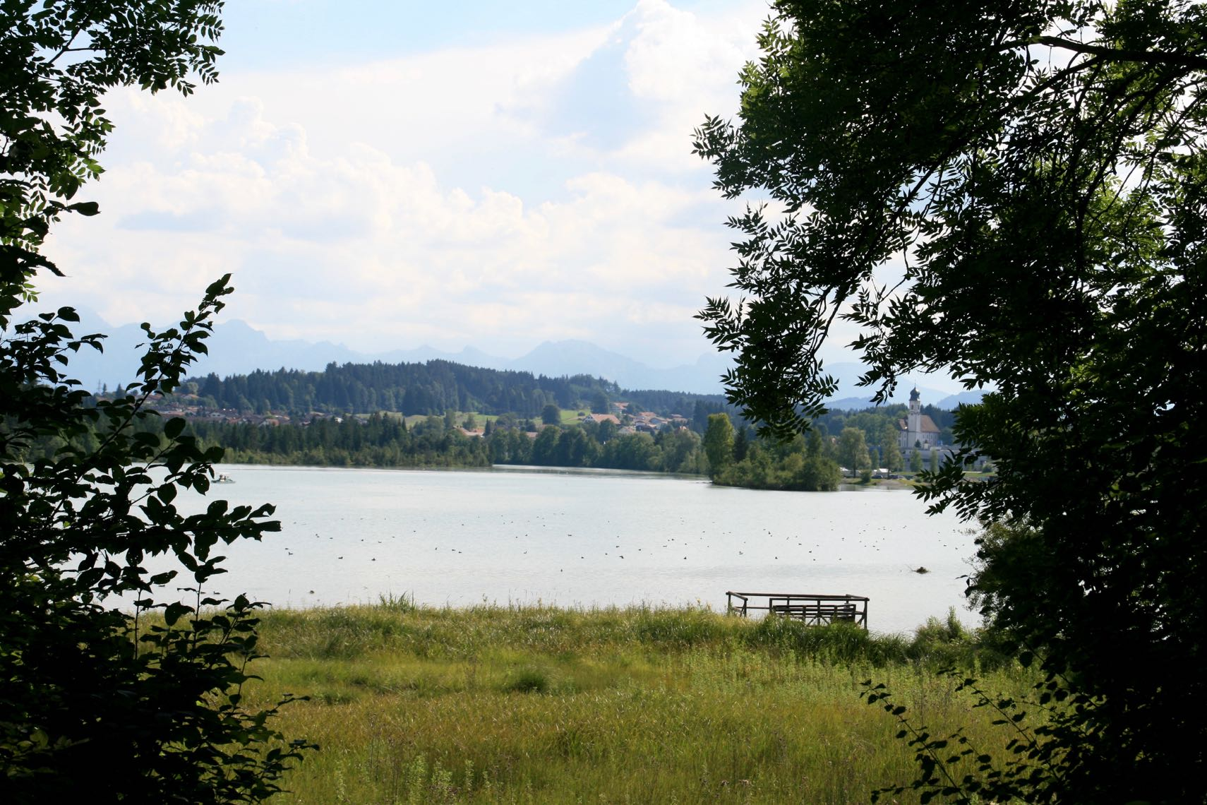 Oberer Lechstausee