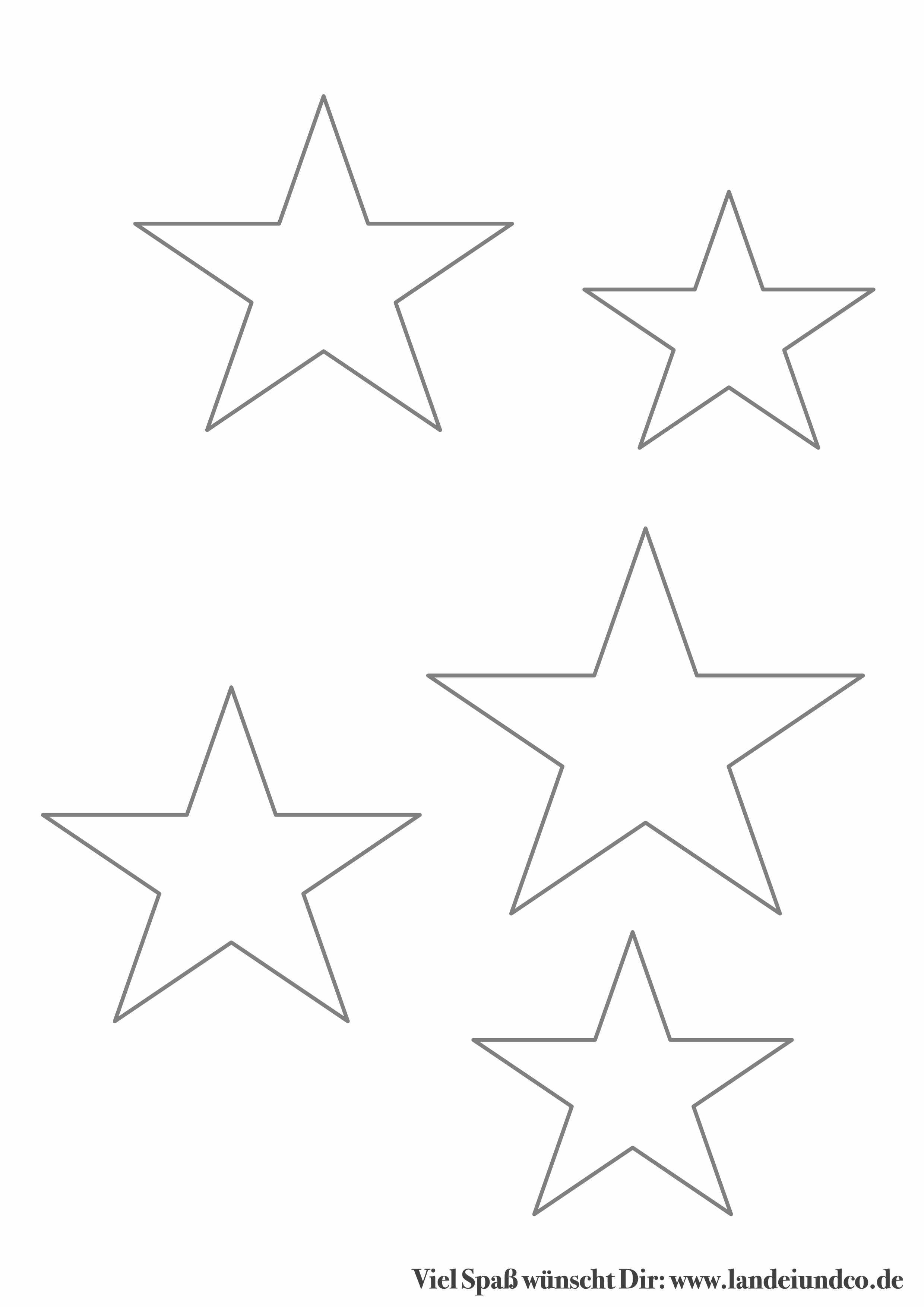 Groß Sterne Vorlage Ausdrucken Zeitgenössisch - Entry Level Resume ...