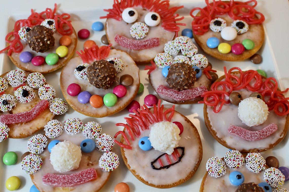landeiundcode lustige clowns für kindergeburtstag oder